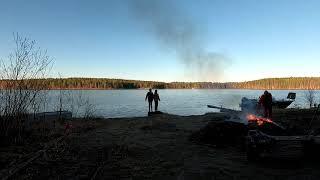 #Весна#Природа#Озеро#Погода#Субботник  Как совместить приятное с полезным.