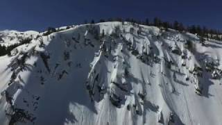 March 1st, 2017, Splitboarding Mammoth Lakes Backcountry