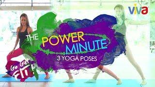 [Go Get Fit] Three Yoga Poses