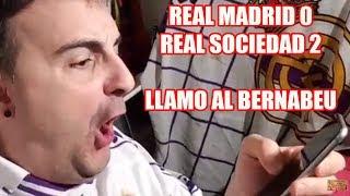 Скачать REAL MADRID 0 2 REAL SOCIEDAD El Señor Del Futbol Llama Al BERNABEU