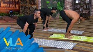 ¡Pepe y Teo se rifaron a hacer Yoga con nosotros!