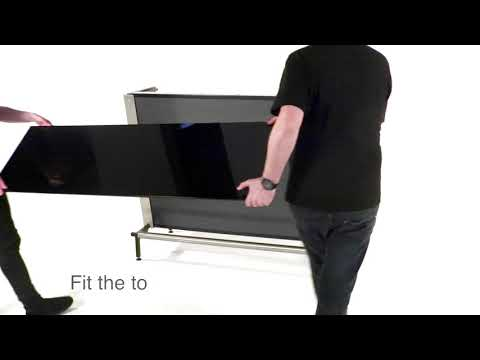 Barlok® 1.5m Portable Bar Unit General Assembly