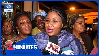 Recap: Aisha Buhari Returns From The UK