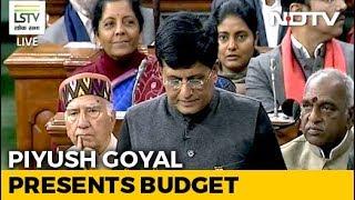 Budget 2019 | #BudgetWithNDTV