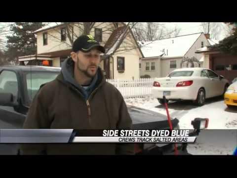 Crews Work to Treat Dayton Side Streets