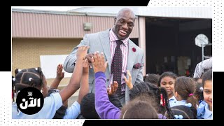 Titus O'Neil on why he loves charity work – WWE AL AN