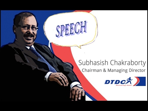 DTDC COURIER // SUBHASHIS CHAKRABOTY SPEECH