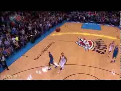 (HD) Darren Collison AMAZING Game-Tying 3 Pointer! Mavericks vs. Thunder! Buzzer Beater