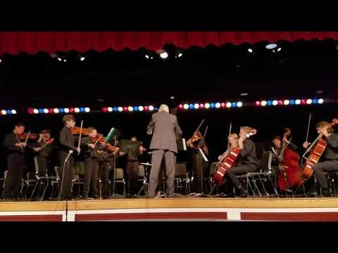 Por Una Cabeza, Lindero Canyon Middle School Orchestra members