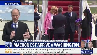 Nous sommes les garants du multilatralisme contemporain a dclar Emmanuel Macron aux tats-Unis