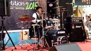 Muhammad Zaki Mubarrak  (Yamaha Guitar Drum Contest 2015, Local Heat)