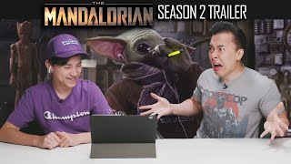 DAD REACTS TO THE MANDALORIAN SEASON 2 TRAILER!!! Disney Extremely Disappointed!