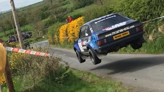 Video Monaghan Stages Rally 2017 huge jump and spin download MP3, 3GP, MP4, WEBM, AVI, FLV April 2017