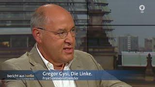 """""""Wir haben alle versagt!"""" - Gregor Gysi im ARD-Sommerinterview 16.08.2015 - Bananenrepublik"""