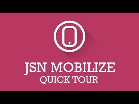 JSN Mobilize Quick Tour | Joomla Extension Video