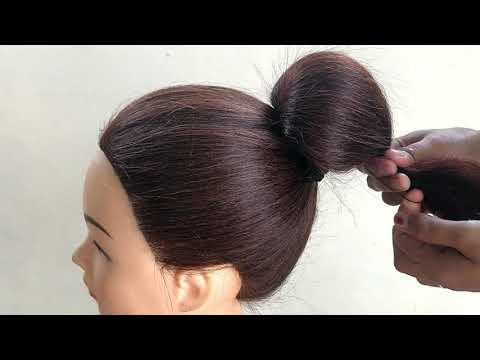 Beautiful Hairstyle With Clutcher || Easy Hairstyle For Medium Hair || Hairstyle For Last Minute thumbnail