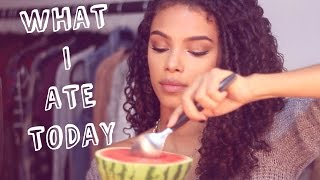 What I ate Today! | SunKissAlba