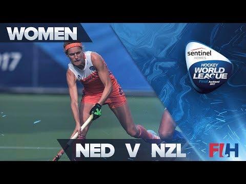 Netherlands v New Zealand Match Highlights - Sentinel Homes Hockey World League Final