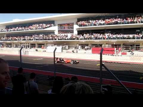 F1 Austin, TX 2012 Race Start
