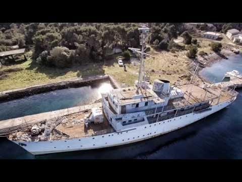 VIS - Titos Yacht - Wracktauchen