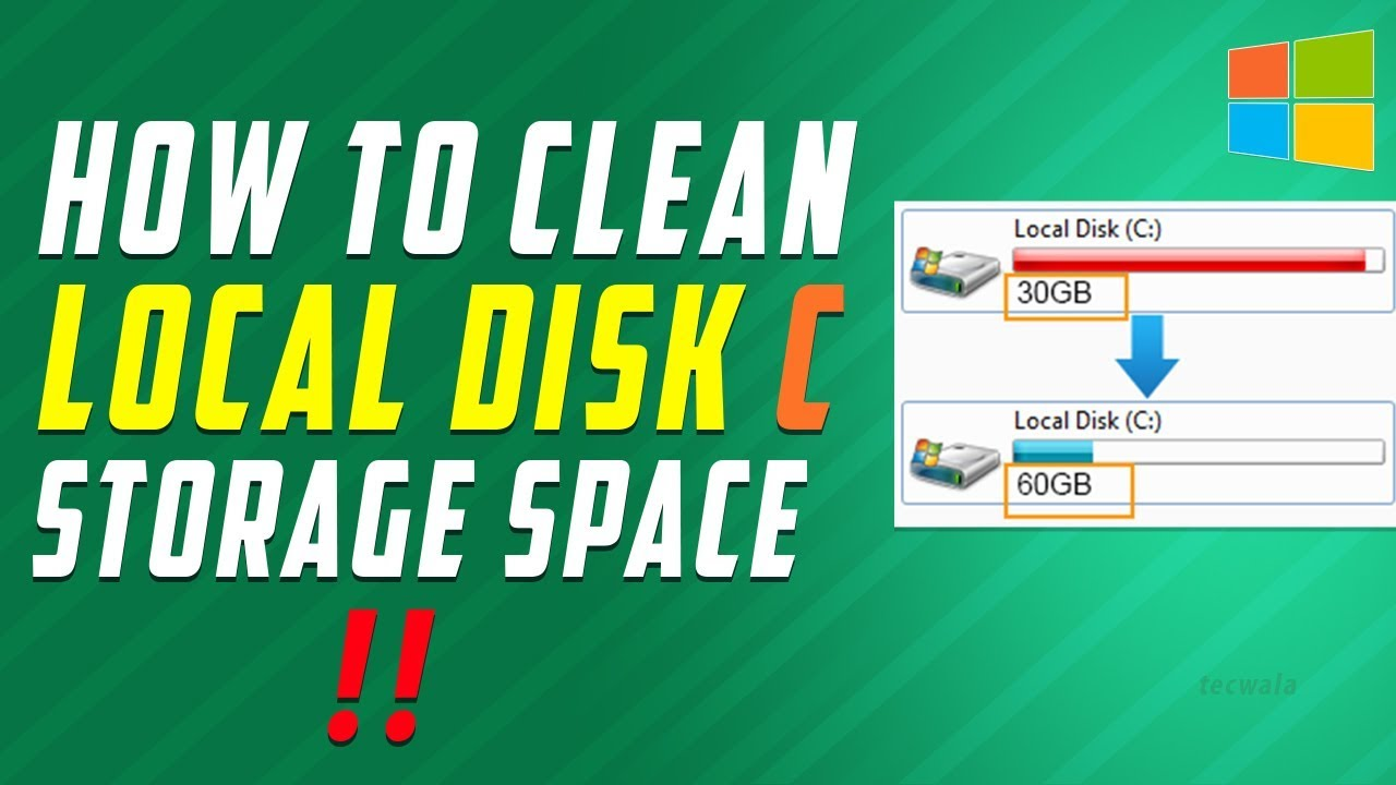 how to delete local disk