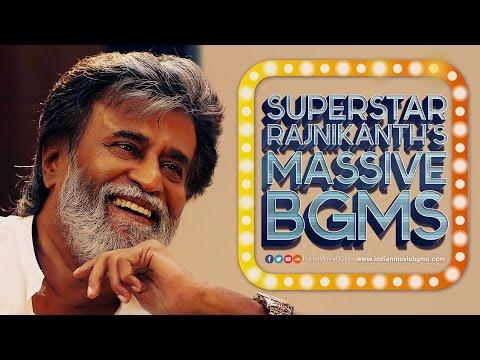 """Super Star"" Rajnikanth's Massive BGMs | IndianMovieBGMs"