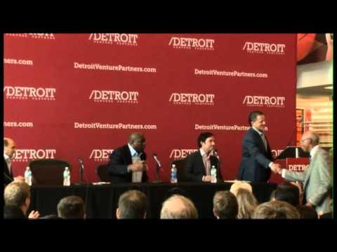 Earvin 'Magic' Johnson | Detroit Venture Partners Press Conference | Quicken Loans Events
