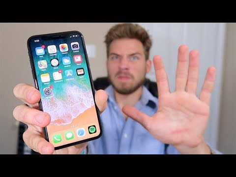 Thumbnail: iPhone X - 5 Things I HATE