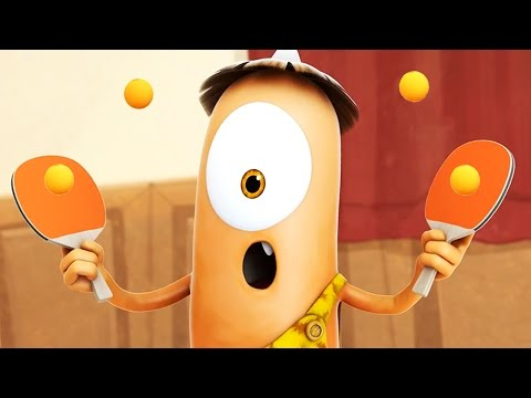 Funny Animated Cartoon | Spookiz Best Ping Pong Match Ever 스푸키즈 | Cartoon for Children