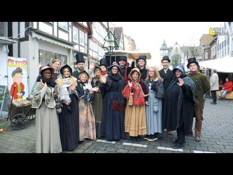 Das Charles-Dickens-Festival in Blomberg 2016