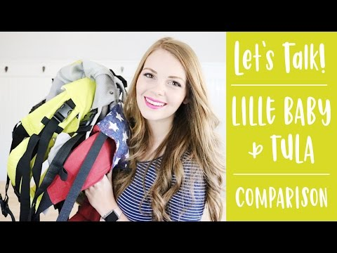 BEST Comparison Of Lille Baby & Tula Baby Carriers - Features, Styles And More!