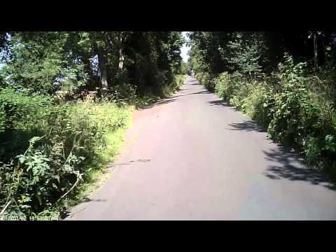 808 #16 cam HD - York cycling - Gypsy Corner and Dunnington
