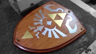 How to Make: Link's Wooden Shield - Zelda