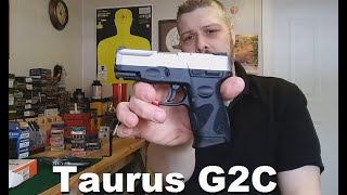 Taurus G2C Unboxing and First Shots