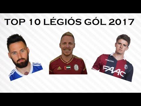 TOP 10 légiós gól ● 2017