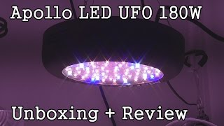 Apollo Led Ufo 180w Grow Light -unboxing + Initial Review