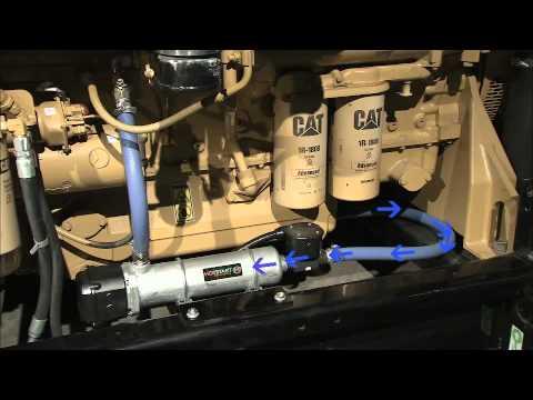 Hotstart engine heater installation  YouTube