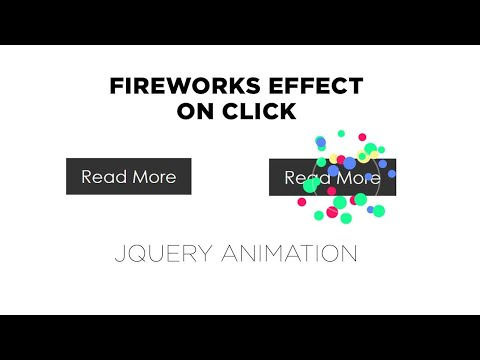 Fireworks Effect on click using Jquery | Jquery Plugins Tutorial