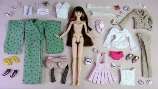 ★CCS 모모꼬 기모노 개봉후기/육일돌★CCS 15SP Momoko Kimono Unboxing/Doll Dress Up/PetWORKs