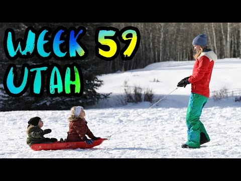 Ice Castles in Midway, Ski School at Solitude, and Our 1st Meet Up Event!! /// WEEK 59 : Utah
