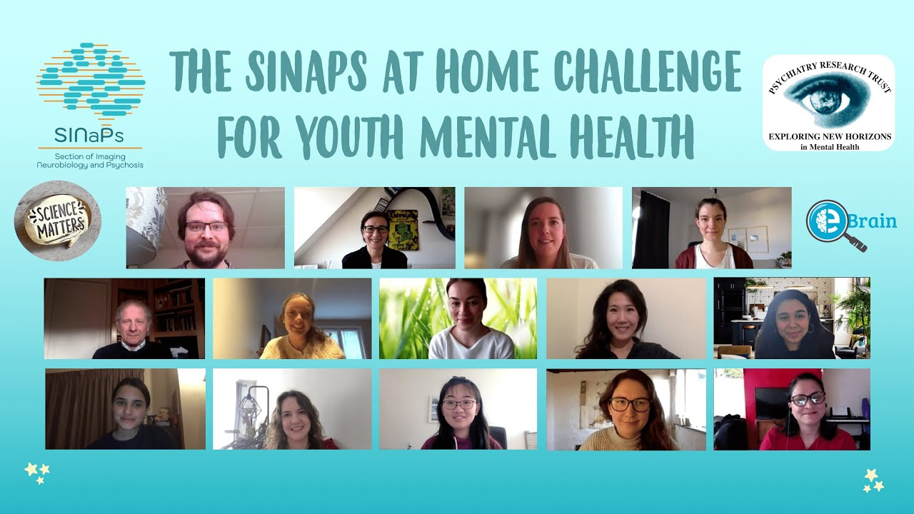 The SINaPs at Home Challenge for Youth Mental Health