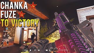 Lord Tachanka And Fuze To Victory | Rainbow Six Siege Crazy Moments [Highlights] thumbnail