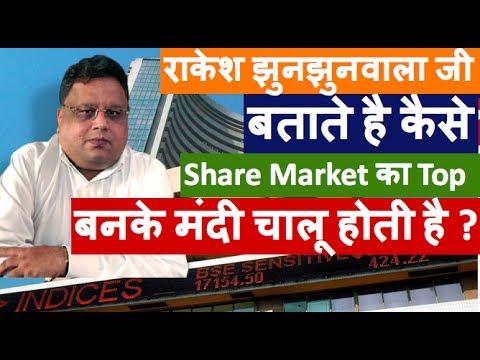 Rakesh Jhunjhunwala Latest Interview मे बताते है कैसे Share Market मे मंदी चालू होती है?