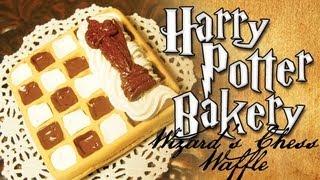 Harry Potter Clay Bakery: Wizard's Chess Waffle