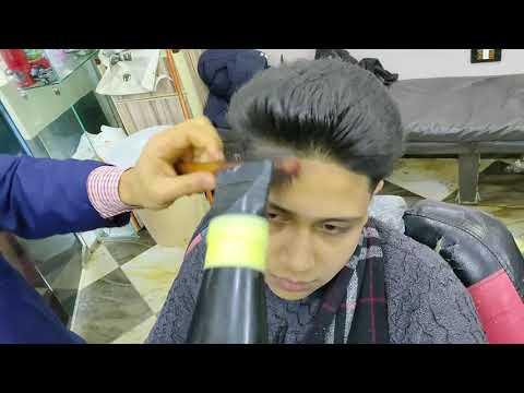 كيفية استشوار الشعر للرجال