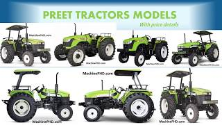 All Preet tractor models with price | quick View