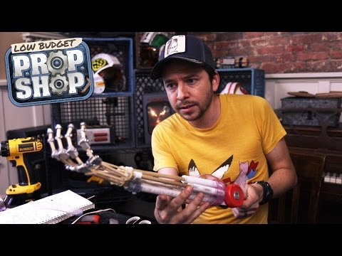 Build Your Own Terminator Arm - Low Budget Prop Shop