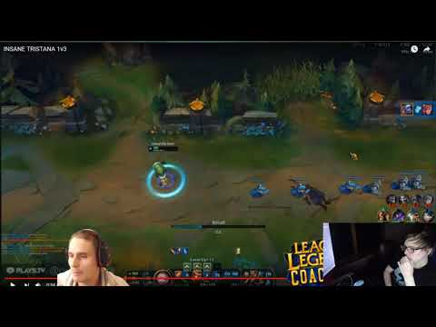 LS Gives His Input On Neace's Review of Reddit Play Tristana 1v3