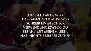 MARTERIA - Das Geld muss weg (Official HQ Lyrics)