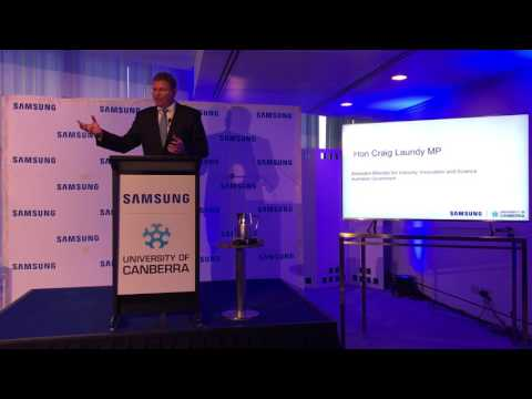 Samsung and Uni of Canberra' STEM Education Research Centre findings at Parliament House